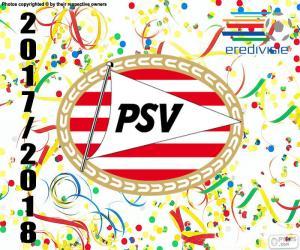 Puzzle PSV Eindhoven, Eredivisie 2017-18
