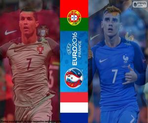 Puzzle PT-FR, fin Euro 2016