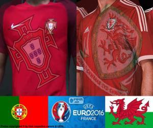 Puzzle PT-Gales, demi-finale Euro 2016