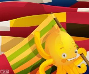 Puzzle Pypus et drapeaux