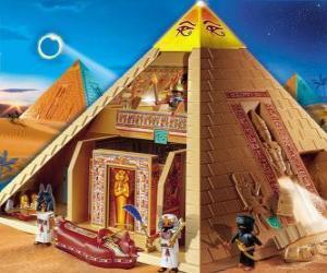 Puzzle Pyramide Egypte Playmobil
