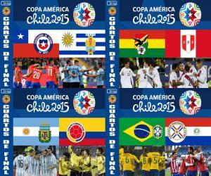 Puzzle Quarts de finale, Chili 2015
