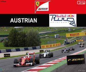 Puzzle Räikkönen, G.P d'Autriche 2016
