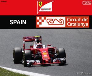 Puzzle Räikkönen, G.P. Espagne 2016