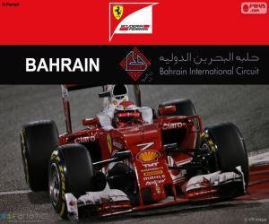 Puzzle Räikkönen Grand Prix Bahreïn 2016