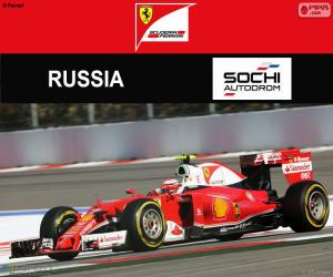 Puzzle Räikkönen, Grand Prix Russie 2016