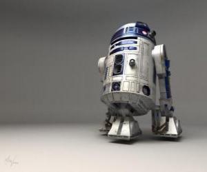 Puzzle R2-D2, astro-droïde e ami de C-3PO (prononcez Artou-Ditou)