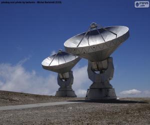 Puzzle Radiotélescopes