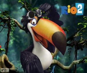 Puzzle Rafael, le toucan