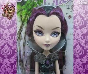 Puzzle Raven Queen, chef de Rebels dans Ever After High