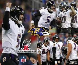 Puzzle Ravens de Baltimore champion de CFA 2012