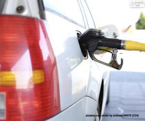 Puzzle Ravitaillement en voiture diesel