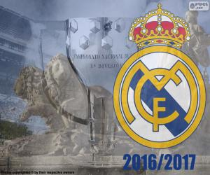 Puzzle Real Madrid, champion 2016-2017