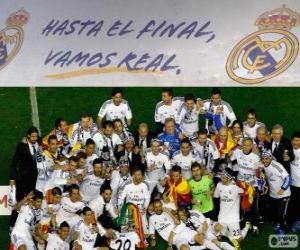 Puzzle Real Madrid champion Copa del Rey 2013-2014