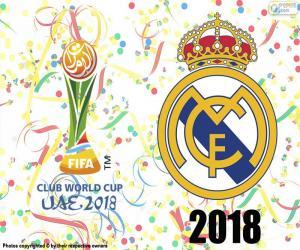 Puzzle Real Madrid, champion du monde de 2018