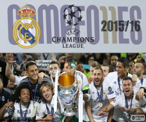 Puzzle Real Madrid, Champions 2015-2016