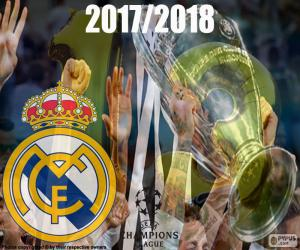 Puzzle Real Madrid, Champions 2017-2018