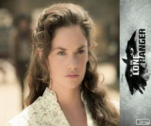 Puzzle Rebecca Reid (Ruth Wilson) dans le film Lone Ranger