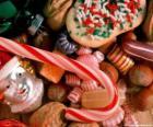 Divers friandises - Bonbons, bonbons de bâtons