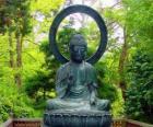 Gautama Bouddha assis