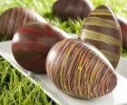 Les oeufs de Pâques au chocolat