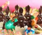 Les lapins au chocolat