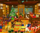 Boutique de cadeaux pour Noël