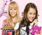 Miley Stewart / Hannah Montana (Miley Cyrus) sur ses personnages