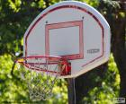 Panier de basket-ball
