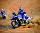 Moto du Dakar