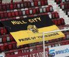 Drapeau de Hull City A.F.C.
