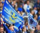 Drapeau de Portsmouth F.C.