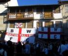 Drapeau de Bolton Wanderers F.C.