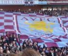 Drapeau de l'Aston Villa FC