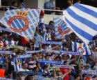 Drapeau de R.C.D. Espanyol