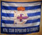 Deportivo La Corogne drapeau