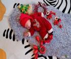 Des enfants illusion rêver durant la nuit de Noël