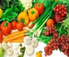 Divers légumesdans