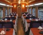 Wagon de train - Restaurant -