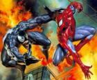 Lutte contre la Spiderman ou Venom