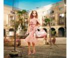 Barbie actrice le tournage d'une annonce