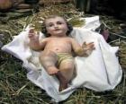 L'Enfant Jésus dans la crèche