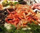 Fruits de mer variés
