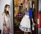 Hannah Montana (Miley Cyrus) avec son amie Lily