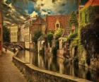 Centre historique de Bruges, Belgique