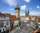 Centre historique de Prague, en République tchèque.