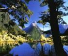 Te Wahipounamu - zone sud ouest de la Nouvelle-Zélande.
