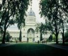 Palais royal des expositions et jardins Carlton, conçu par l'architecte Joseph Reed. Australie