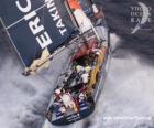 Voilier dans la Volvo Ocean Race