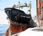 Grands navires de marchandises liées au port